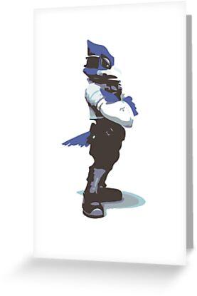 Minimalist Falco from Super Smash Bros. Brawl by Himehimine