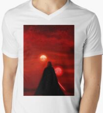 Star Wars Darth Vader Tatooine Sunset  T-Shirt