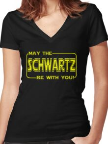 spaceballs  Women's Fitted V-Neck T-Shirt