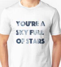 A Sky Full of Stars Lyrics Unisex T-Shirt