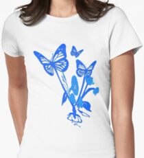 Butterfly Women's Fitted T-Shirt