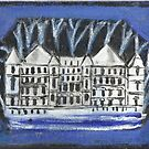 The White Palace(after an assemblege by Joseph Cornell) by RobynLee