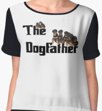 The Dog Father - Rottweiler Litter Chiffon Top