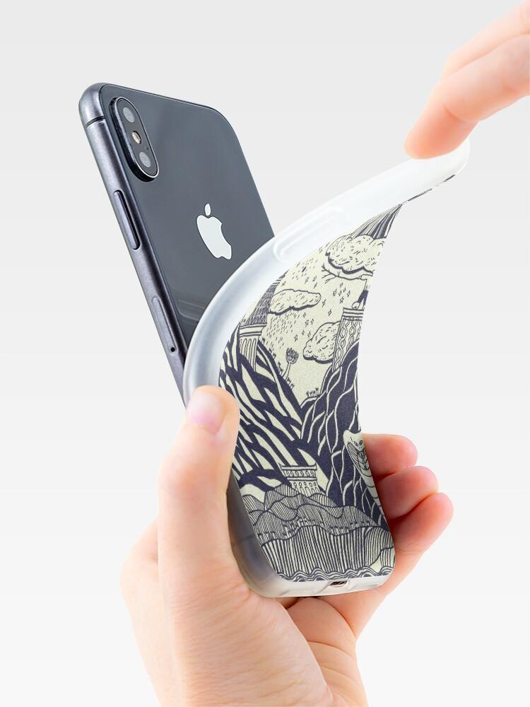Alternative Ansicht von Die Geschichte so weit selbst betitelt iPhone-Hüllen & Cover