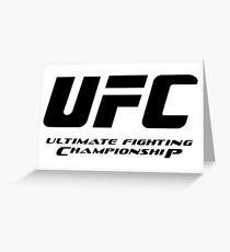 Ultimate Fighting Championship - UFC tour 2016 nm1 Greeting Card