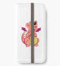 Peach Girl Dragon iPhone Wallet/Case/Skin