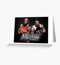 Ultimate Fighting Championship - UFC tour 2016 nm6 Greeting Card