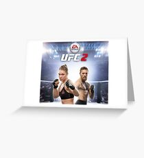 Ultimate Fighting Championship - UFC tour 2016 nm7 Greeting Card