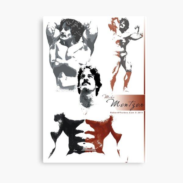 Bodybuilding Legend - Mike Mentzer Canvas Print