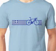 Bike Stripes Greece Unisex T-Shirt
