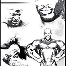 8 Times Mr Olympia - Ronnie Coleman by muscle-art