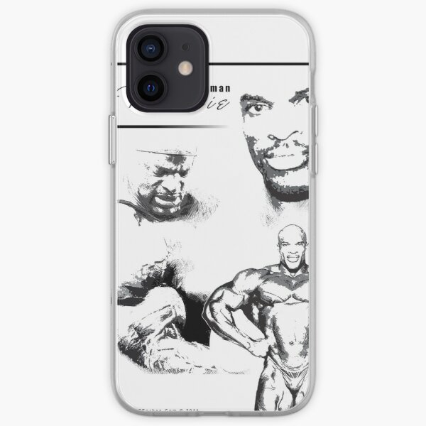 8 Times Mr Olympia - Ronnie Coleman iPhone Soft Case
