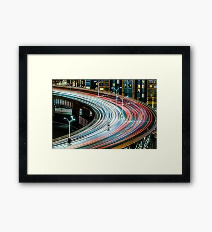 The Helix Framed Print