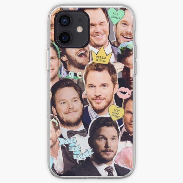 Chris Pratt Funda blanda para iPhone
