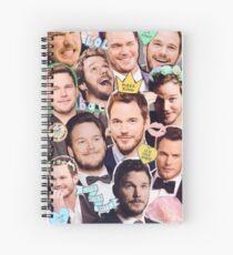 Chris Pratt Spiral Notebook