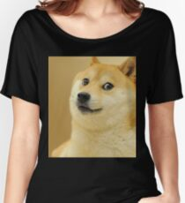 Doge wow Women's Relaxed Fit T-Shirt