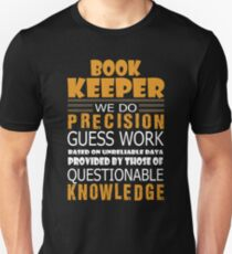 AWESOME TEE FOR BOOK KEEPER Unisex T-Shirt