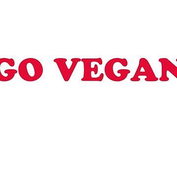 go vegan by danascullysgf