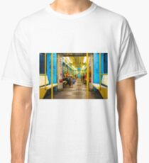 Subway carriage in Milano, Italy Classic T-Shirt