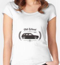 Volkswagen Golf MK2 Old School Women's Fitted Scoop T-Shirt