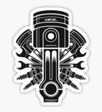 Piston and accessories Sticker