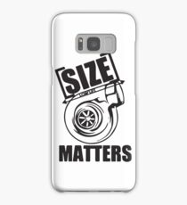 Turbo size matters Samsung Galaxy Case/Skin