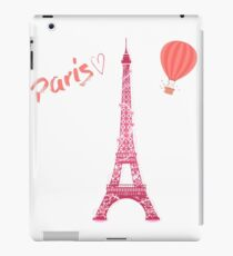 Love Paris Eiffel Tower Travel Romantic Fashion iPad Case/Skin