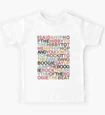 Rapper's Delight - Sugarhill Gang Kids Tee