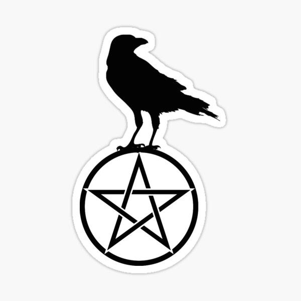 Goth Symbols Pattern Sticker