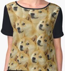 Doge meme Women's Chiffon Top