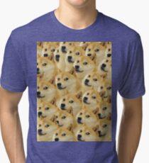 Doge meme Tri-blend T-Shirt