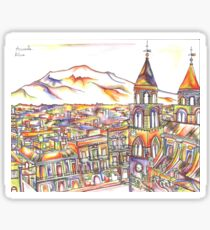 Sicily in Colour  Sticker
