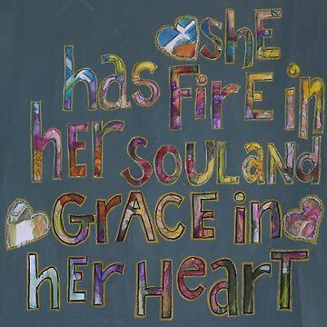 danielles heart by Fleurjoli