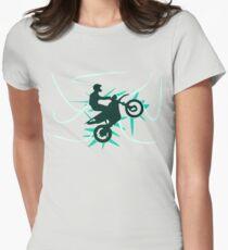 Motor Cross Women's Fitted T-Shirt