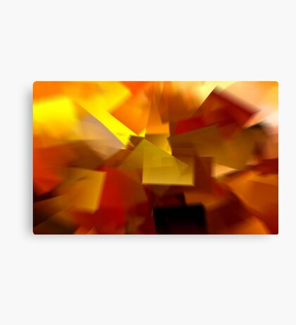 Cubistic Tendencies Canvas Print