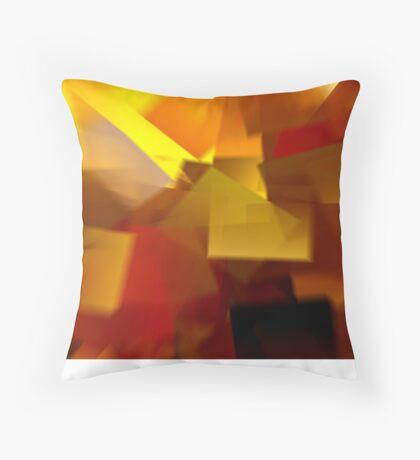 Cubistic Tendencies Throw Pillow