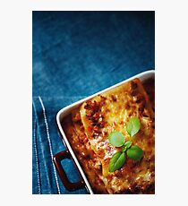 Italian Food Photographic Print