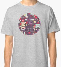 Geometric robots Classic T-Shirt