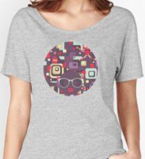 Geometric robots Women's Relaxed Fit T-Shirt