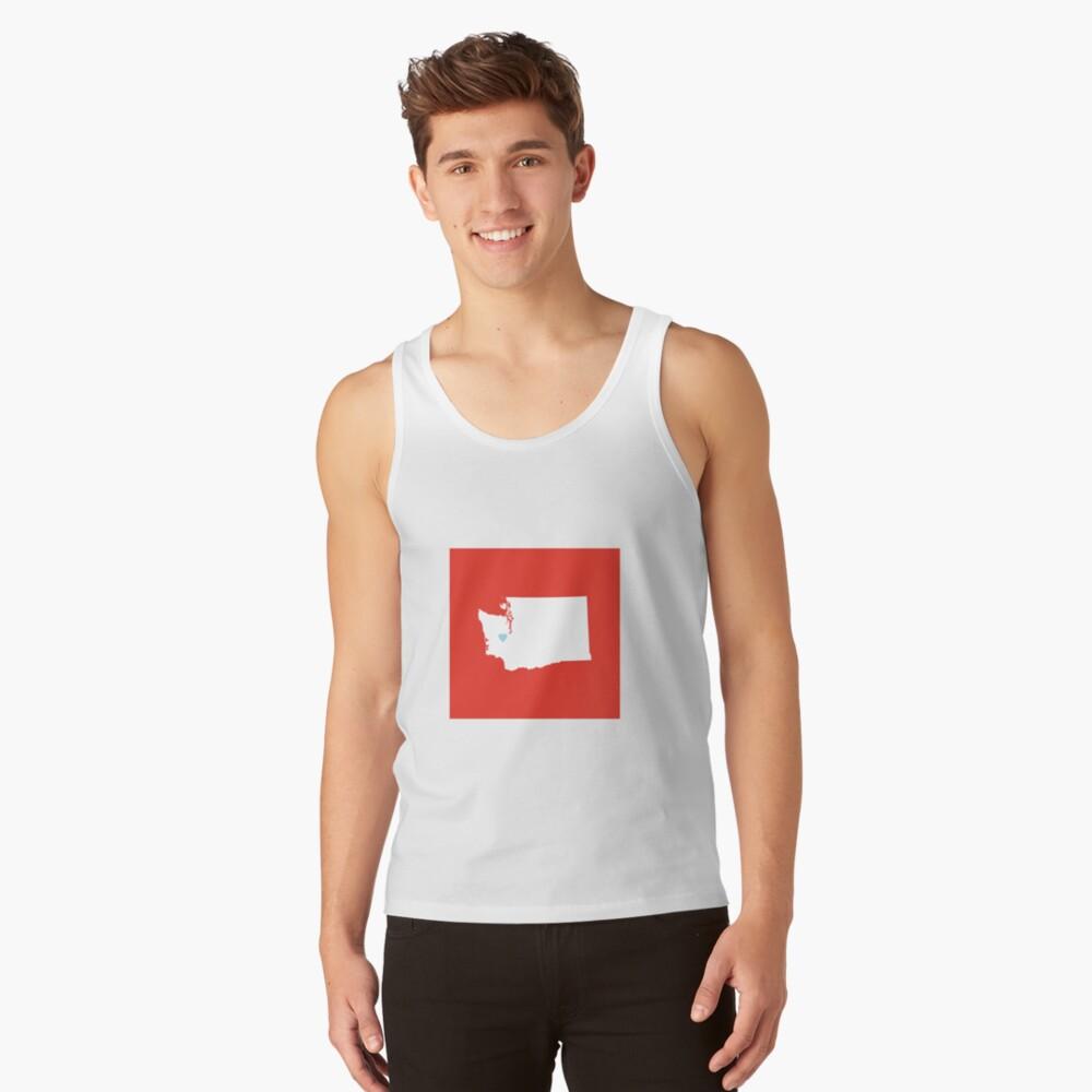 Washington Love Tank Top