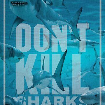 Don't Kill Sharks by mimarumble