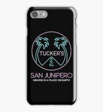 Tucker's Bar / San Junipero iPhone Case/Skin