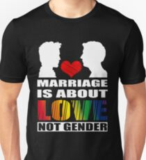 LGBT T-shirts: Gay marriage Unisex T-Shirt