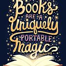 Books are magic by Risa Rodil