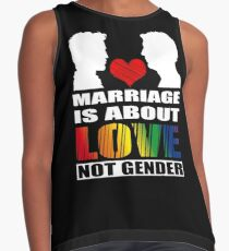 LGBT T-shirts: Gay marriage Contrast Tank