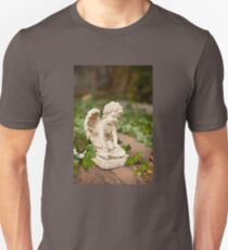 Small angel statue kneel  Unisex T-Shirt