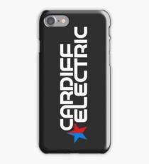CARDIFF ELECTRIC WHITE iPhone Case/Skin