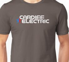 CARDIFF ELECTRIC WHITE Unisex T-Shirt