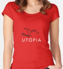 UTOPIA - Bag Women's Fitted Scoop T-Shirt
