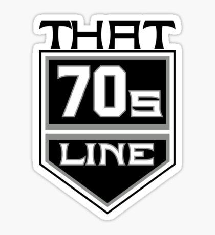 T7L Modern  Sticker
